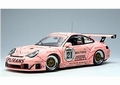 Porsche 911 996 GT3 RSR 2006 Zolder Pink Pig Roos Varken #21 1/18