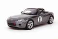 Mazda Roadster # 1 Grijs Galaxy Grey 1/18