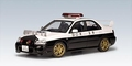 Subaru Impreza WRX STI Japanese Police Car Politie 1/18