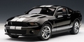 Ford Shelby GT500 Zwart  Black 1/18