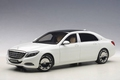 Mercedes  Maybach S Klasse  S600 Wit White 1/18