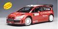 Citroen C4 WRC 2007 Winner Rally Monte Carlo # 1 Total 1/18