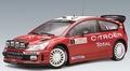 Ciroen C4 WRC 2007 Winner Rally Monte Carlo # 1 Total 1/18
