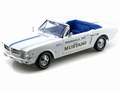 Ford Mustang 1964 1/2 Indianaplois 500 Pace car Cabriolet 1/18