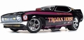 Ford Mustang 1972 Funny car Trojan Horse 1/18