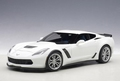 Chevrolet Corvette C 7 Z06 Wit artic White 1/18
