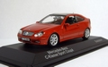 Mercedes Benz C klasse Sport Coupe Rood Red 1/43