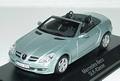 Mercedes Bens SLK - Klasse Zilver licht blauw Cabrio 1/43