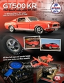 Ford Shelby Mustang GT500 KR 1968 Rood Red 1/18
