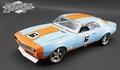 Chevrolet Camaro 1968  street fighter Gulf racing #6 1/18