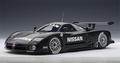 Nissan R390 GT1 Le Mans Test car zwart black 1/18