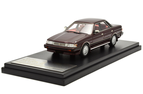 Toyota Mark II grande twin cam 24 1987 Rood Red 1/43