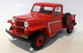 Jeep Willy's Pick up truck Rood Red 1/18