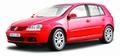 VW Volkswagen Golf  V Rood Red 1/18