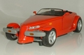 Plymouth Prowler Cabrio Rood Red 1/18