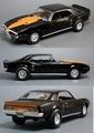 Pontiac Firebird Blackbird  1/18