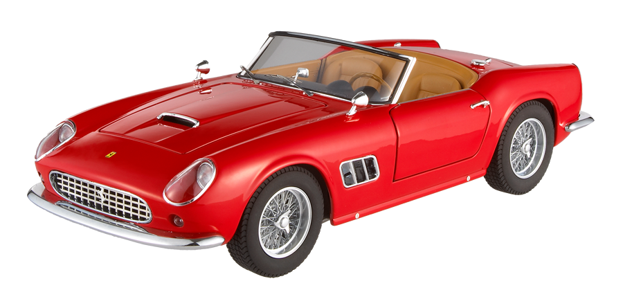 Ferrari 250 California SWB Rood Red Cabrio 1/18
