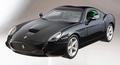 Ferrari 575 GTZ Zagato Zwart  Black 1/18
