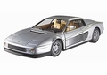 Ferrari Testarossa Zilver Silver  1/18