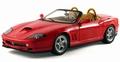 Ferrari 550 Barchetta Pininfarina Rood Red Cabrio 1/18