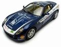 Ferrari 599 GTB Fiorano Blauw Blue Panamerican 20000 1/18