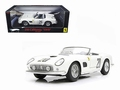 Ferrari 250 California SWB Le Mans 1969 #20 Wit White Cabrio 1/18