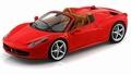 Ferrari 458 Spider Rood Red Cabrio 1/18