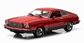 Ford Mustang II Mach 1 1976 Rood Red 1/18