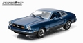 Ford Mustang II Mach 1 1976 Blauw  Blue 1/18