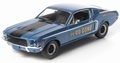 Ford Mustang 1968 2+2 Fastback Blauw Blue 1/18