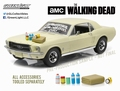 Ford Mustang 1967 Coupe Beige Dirt + accessoires 1/18