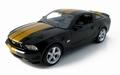 Ford Mustang 2010 GT Zwart -goud  Black Gold 1/18