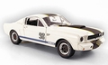 Ford Mustang  1966 Shelby GT 350R Wit White # 98 1/18