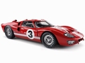Ford GT 40 MK II 1966 Rood Red # 3  1/18