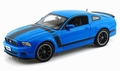Ford Mustang Boss 302 Blauw Blue 2013 1/18