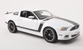 Ford Mustang Boss 302 White Wit 2013 1/18