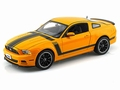 Ford Mustang Boss 302 Geel Yellow 2013 1/18