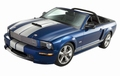 Ford Mustang 2008 Shelby GT Convertible Cbrio Blauw Blue  1/18