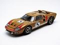 Ford GT 40 MK II 1966 Goud Bruin   Gold Brown # 5 1/18