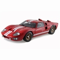 Ford GT 40 MK II 1966 Rood Red 1/18