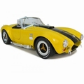 Shelby Cobra  427  S/C Geel Yellow  1/18