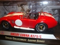Shelby Cobra 427 S/C Rood Red  Witte striping White 1/18