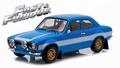 Brain's Ford Escort RS2000 MK I 1974  Blauw Blue  1/18