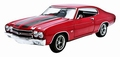Dom's Chevrolet Chevelle  SS 1970  Rood Red 1/18