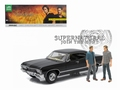 Chevrolet Impala 1967 Sport sedan Zwart Black 1/18