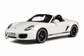 Porsche Boxter spider Wit White Cabrio  1/18
