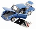 Porsche 901 Sport Coupe 1964 Blauw Blue 1/18