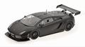 Lamborghini Gallardo LP 600 + GT3 Zwart  matt Black 1/18