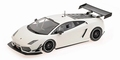Lamborghini LP 600 + GT3   Wit  White 1/18