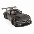 BMW Z4 GT3  Zwart  matt Black 1/18